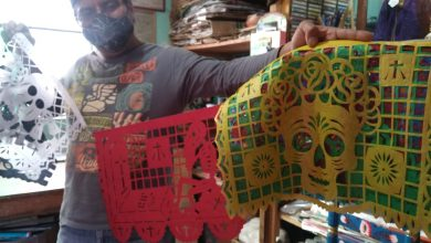 Photo of Papel picado, una tradición de arte efímero