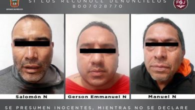 Photo of Caen 3 sujetos por posible secuestro en Chimalhuacán