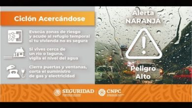 "Photo of Decretan alerta amarilla en QR por tormenta tropical ""Zeta"""